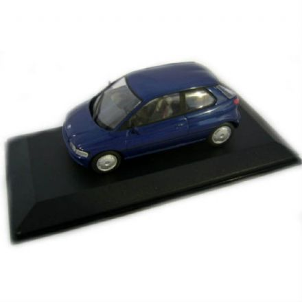 BMW E 1 Blue 1/43 Diecast Metal, Minichamps